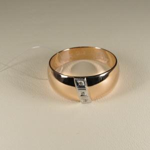 Кольцо обручальное 1047513 Цена 12'420 ₽