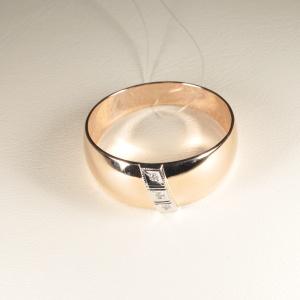 Кольцо обручальное 1047513 Цена 18'245 ₽