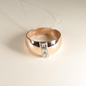 Кольцо обручальное 1047513 Цена 13'425 ₽