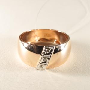 Кольцо обручальное 1047513 Цена 19'825 ₽