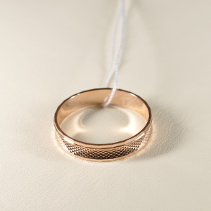 Кольцо обручальное 11010744 Цена 8'515 ₽