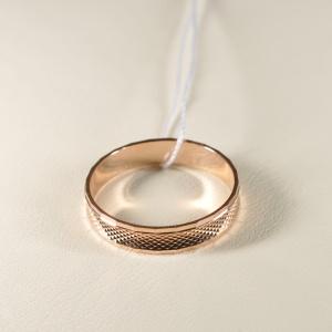 Кольцо обручальное 11010744 Цена 9'205 ₽